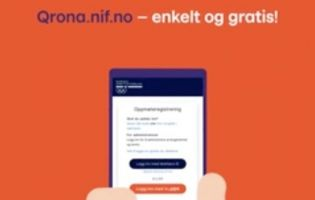 Gratis digital besøksregistrering for arrangementer